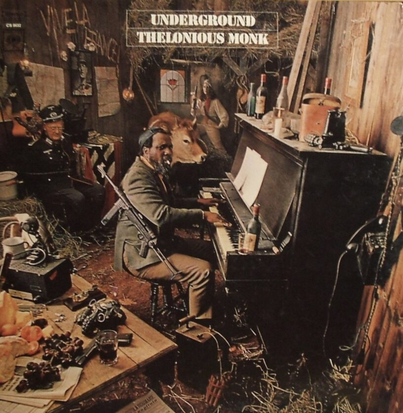 Cover art for Thelonious Monk, Underground