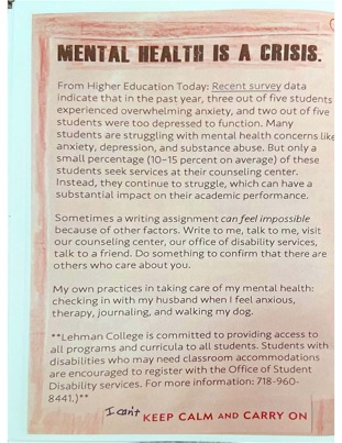 Mental Health Page